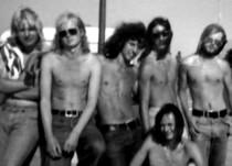 Vlnr: Otto, Günther, Hucky, Fritz, Peter. Vorne: Eberhard